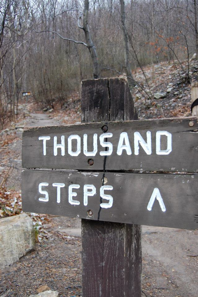 a-thousand-steps-sign