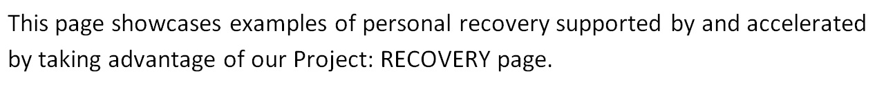 Youth Recovery - ProjectRECOVERY